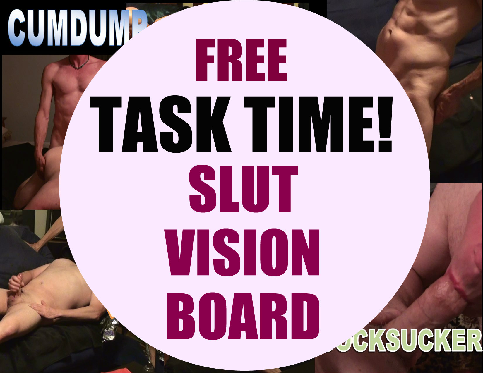 Cumdump Vision Board!